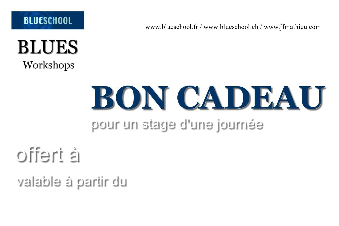 BON pour stage blueschool